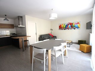 Appartement moderne à Serris Val d'Europe Disneyland (SCANDI4)