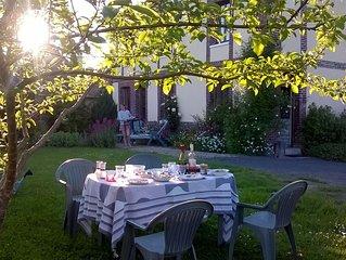Pres de Rouen, Maison en Haute Normandie a Vascoeuil, dans village