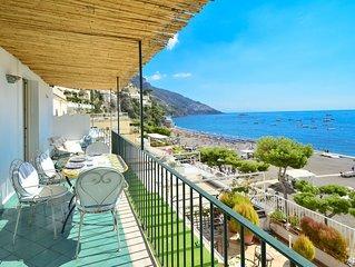 Charming house CASA RAFFI with sea view near Positano's Spiaggia Grande beach