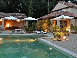 Lourmarin  Maison 6 pièces avec piscine