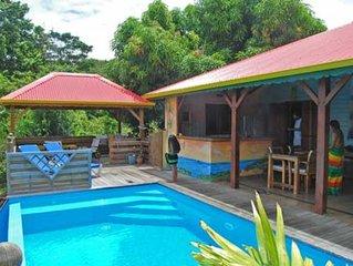 Villa Mangotine,  villa luxe a deshaies en Guadeloupe