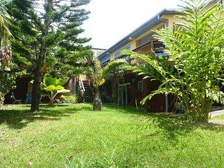 Villa spacieuse, jardin arbore  et spa
