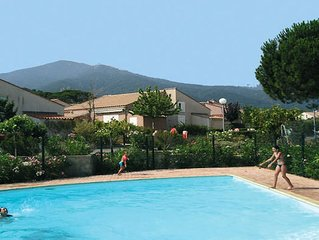 Agreable VILLA de Vacances climatisee-Veranda-jardinet et acces Piscine-Tennis