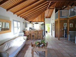 COUP DE COEUR : Grande villa avec piscine et jacuzzi et bungalow indépendant