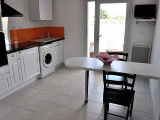 Charmant T2 Sur L'ile de Noirmoutier avec petite terrasse plein pied