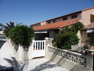 Languedoc Roussillon  BARCARES  Maison Piscine Tarif Spécial Couple 375€ à 475€