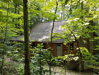 Wyandot Cabin- Secluded cabin in the heart of Hocking Hills
