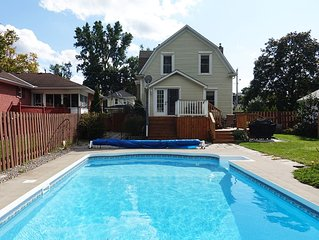 Charming house with pool in Picton, Prince Edward County