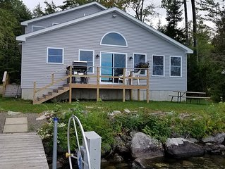Vacation Home on Beautiful Schoodic Lake!  Adjacent to snowmobile & ATV Trails!
