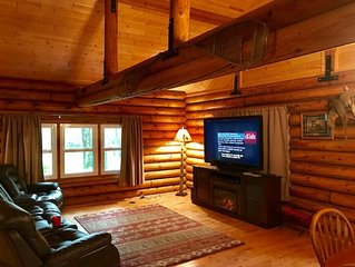�Enjoy a relaxing stay at Whitetail Lodge�