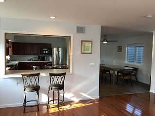Spacious family house with 6 BDRMS/5 BTRMS  to beach/board walk.