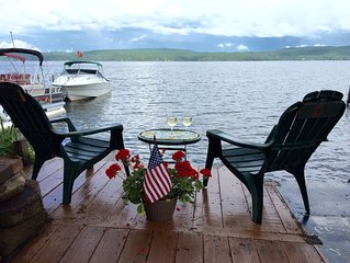 Island View 2. Apartment W/ Lakeside Patio Perfect For 2-4. Cozy + Economical