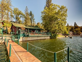 Fantastic Views From This Lakefront Home With Private Dock