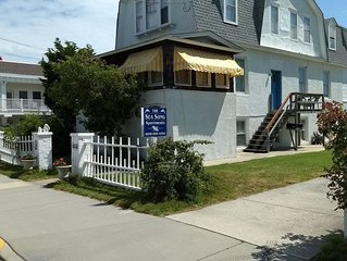 Cape May Family Vacation Rental only a 1/2 block from Cape May's best beach