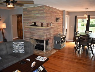 Updated Eclectic Mid Town House Close to MSU, WOW, Mercy, Cox, Highways