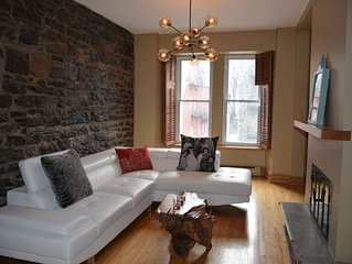 BEAUTIFUL HISTORIC HOME IN DOWNTOWN MONTREAL!