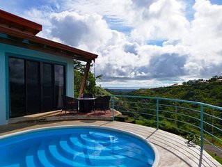 Brand New Luxury Mountain Home With Pacific Ocean View and Rain Forest Views