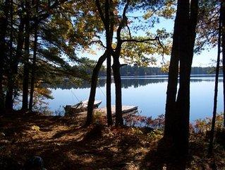 Pristine Kezar Lake Waterfront Cabin
