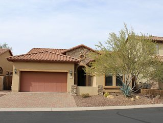 Relaxing single level 4bd/3ba home with pool.