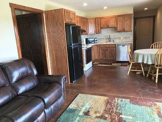 Quiet one bedroom apartment just north of Stillwater, 7 miles from OSU campus