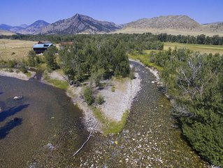 Executive Cabin -1 mile Stillwater River-Guide House-Montana fly fishing