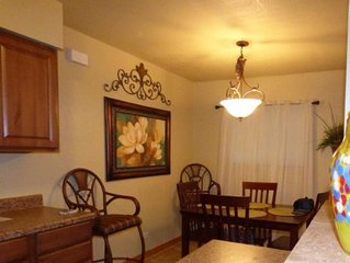 Beautiful and quiet first floor residential Condo centrally located