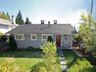 Bright Open Modern & Warm House Close to Beaches/Mountains/Trails/Downtown