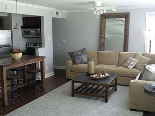 Walk, don't drive! Beautful 3/2 gated condo minuites from the Ole Miss Campus