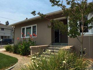Charming bungalow apartment in downtown Napa--30 DAY MINIMUM RENTAL