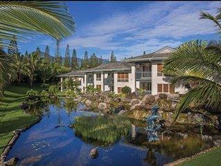 Wyndham Bali Hai Villas, 2 Bedroom Deluxe Condo, Princeville, Free WiFi