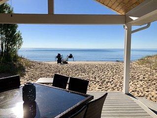 Beautiful Luxury Waterfront Property Directly on Lake Huron Beach