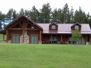 Jade Pines, A beautiful log home in the Black Hills plenty of entertainment
