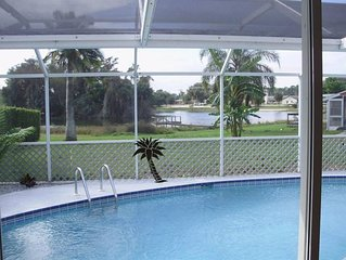 Beautiful vacation pool home, on Lake Camille (2-6 people same price)