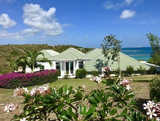 Beautiful 4 Bedroom Waterfront home in Long Bay, Antigua