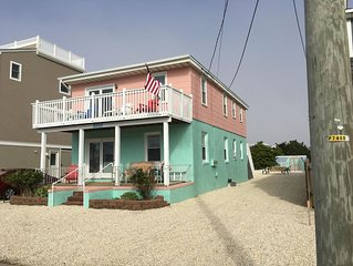 Lower Floor Of A Charming Oceanside LBI Duplex Beach House