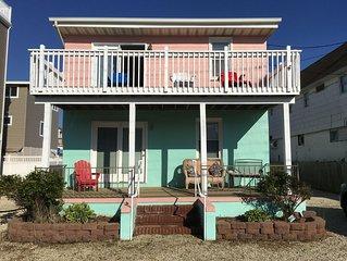 Top Floor Of Charming Oceanside LBI Duplex Beach House