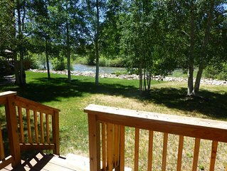Quiet Cabin on the Gunnison River ~ Pet Friendly ~ Fishing Access. Close to town