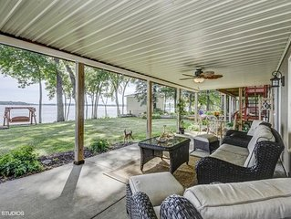 Family-Friendly, Waterfront Home With Open Floor Plan And Beautiful Lake Views!