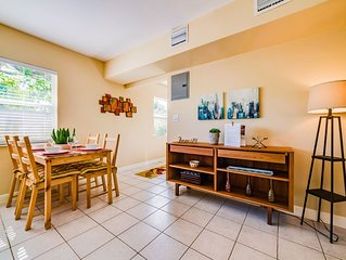 #1: Sunny & Quiet 1BR With Private Patio. Kitchen Equipped for Cooking