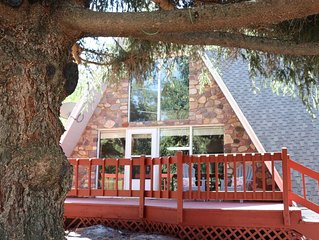 New Listing! Cozy Mountain Getaway. Beautifully Remodeled Cabin Sleeps 8.