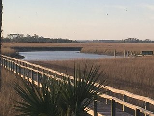 Spectacular, Unique Property with Private Dock on Seabrook Island!!! BL#********