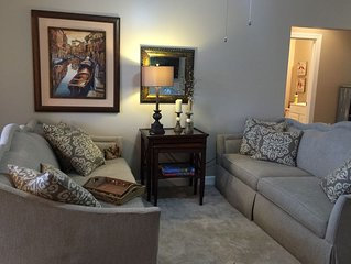 Furnished condo -  3BR/2BA - Why stay at hotel?  Cozy+comfortable+ complete