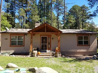 RUIDOSO CABIN (HIDDEN GEM) 3 BEDROOMS 2 FULL BATHS (YOU WILL LOVE IT!)