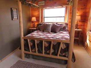 Romantic Log Cabin near the Buffalo National River