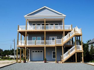 BRAND NEW IN 2018!  SPACIOUS HOME WITH INCREDIBLE OCEAN AND SOUND VIEWS.