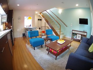 Private, Modern Townhome in Mt Pleasant perfect for a getaway or business travel