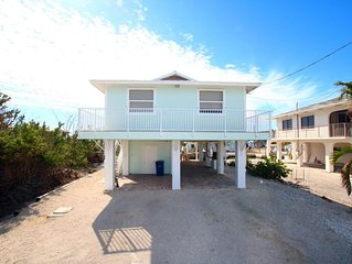 2/2 Canal Front Home Big Pine Key.  Easy ocean and gulf access!