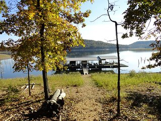 THE HIDE-AWAY & BUNGALOW COMBO offers TWO LAKEFRONT HOMES