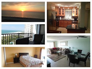 **NEW** Sand Key Gulf Front, 100% Remodeled 2 BR, 2 BA Condo Right On The Beach
