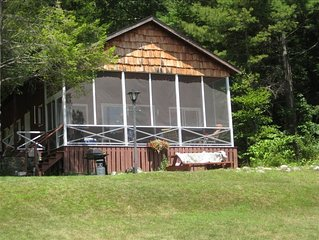 Adirondack Lakeside Cottage on Beautiful Brant Lake, NY
